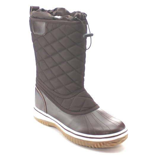 Amazon.com   Da Viccino Refresh Snow-01 Women's Lace Up Waterproof ... : quilted winter boots - Adamdwight.com