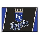 FANMATS MLB Kansas City Royals Nylon Face 5X8 Plush Rug