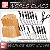 Miracle Blade World Class Series 18 Piece Set Including Knife Block Review