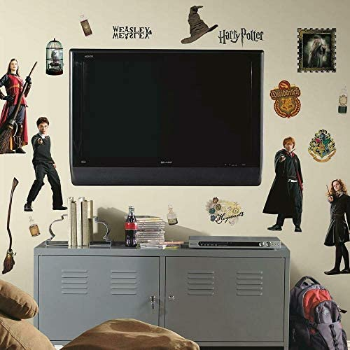 RoomMates Harry Potter Peel and Stick Wall Decals - RMK1547SCS