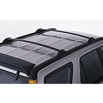 Amazon.com: 2002-2006 Honda CRV Black Roof Rack Cross Bars Sport Utility Luggage Carrier 2002 ...