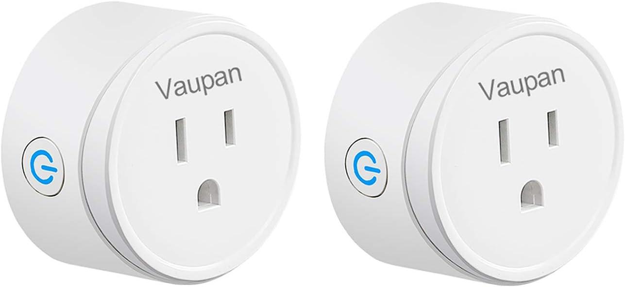 Smart Plug  Vaupan Wifi Mini Switch Socket Smart Outlet