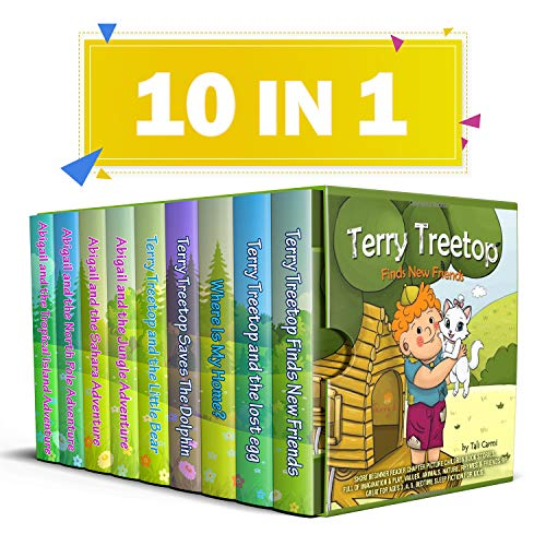 The Terry Treetop & Abigail Children Picture Book Collection: Great for Kids Ages 3 - 5 & Beginner Readers (Christmas Tree Pole Lot North)