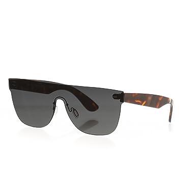 8dc03876b184 Retrosuperfuture Screen Tuttolente Flat Top Black Tort Sunglasses  Super-HQ0  Amazon.co.uk  Clothing