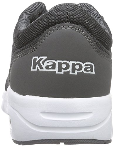 Unisex Adulto Ginnastica Scarpe White Unisex Grau da Kappa Synthetic Mesh Anthra Footwear Melo 1310 TKwByqwH8U