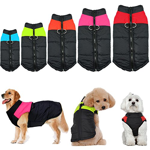 Female Vulcan Costumes (GIG Waterproof Small/ Large Pet Dog Clothes Winter Warm Padded Coat Pet Vest Jacket)