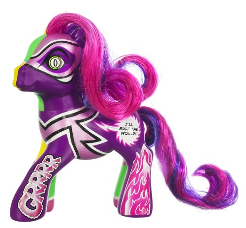 Hasbro 2009 SDCC San Diego Comic-Con Exclusive My Little Pony Figure Two Face