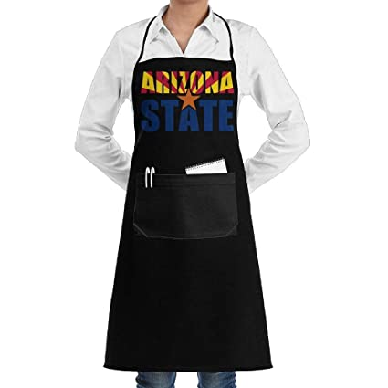 Amazon Com Gamsjm Personalized Kitchen Aprons Arizona State With