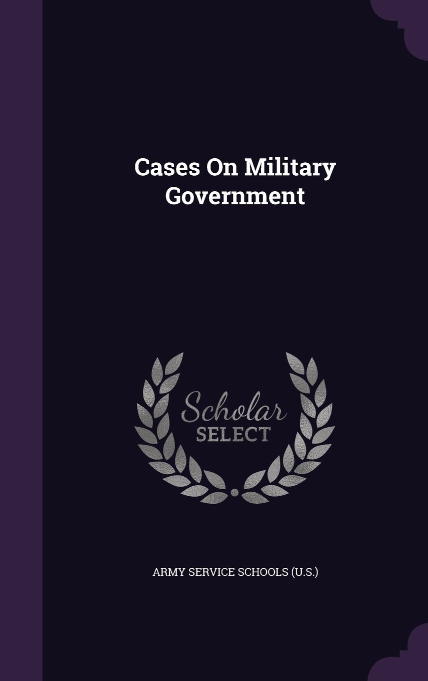 Cases on Military Government PDF