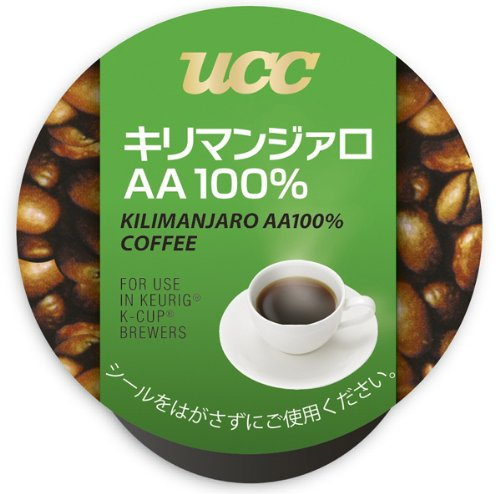 UCC K-CUP Kirimanji~aro AA100% 8g ~ 12 pieces