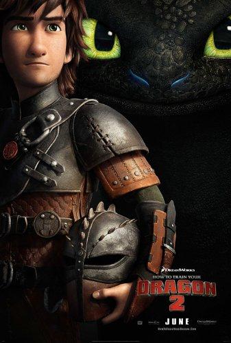 How to Train Your Dragon 2 (2014) 24X36 Movie Poster (THICK) - Jay Baruchel, Kristen Wiig, America Ferrera