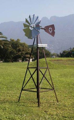 Exceptionnel Rustic Garden Windmill