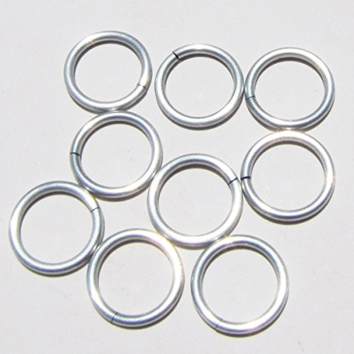 FROST Anodized Aluminum Jump Rings 100 3/8 16g SAW CUT