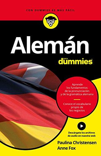 Alemán para Dummies de Paulina Christensen, Anne Fox