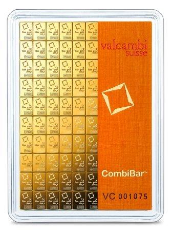 100x 1 gram Gold CombiBar - Va