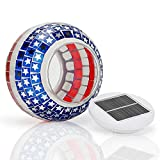 Solar Powered Color Changing Mosaic Glass Ball