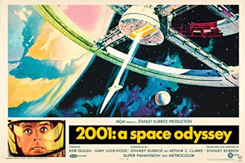 2001 A Space Odyssey Classic Movie Canvas Posters Art Prints 8x12 24x36inch 003