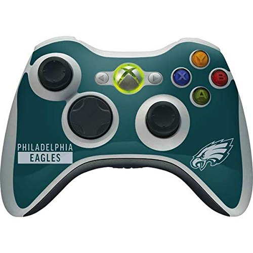 Skinit NFL Philadelphia Eagles Xbox 360 Wireless Controller Skin - Philadelphia Eagles Green Performance Series Design - Ultra Thin, Lightweight Vinyl Decal Protection