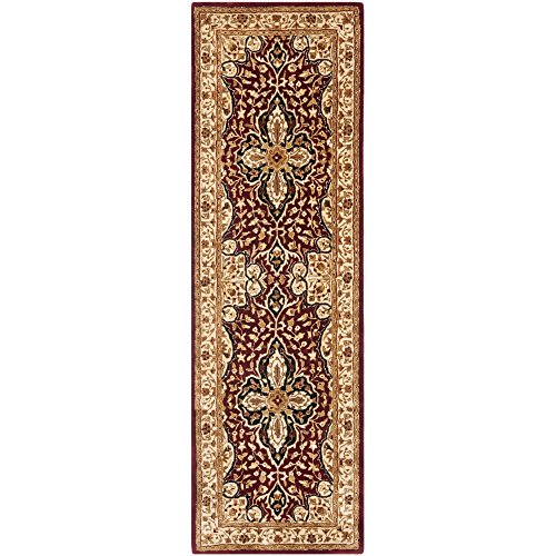 Safavieh Persian Legend Collection PL522A Handmade Traditional Red and Beige Wool Runner (2