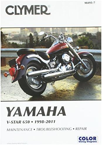 Amazon.com: Clymer Yamaha V-Star 650 (1998-2011): RonWright: AutomotiveAmazon.com
