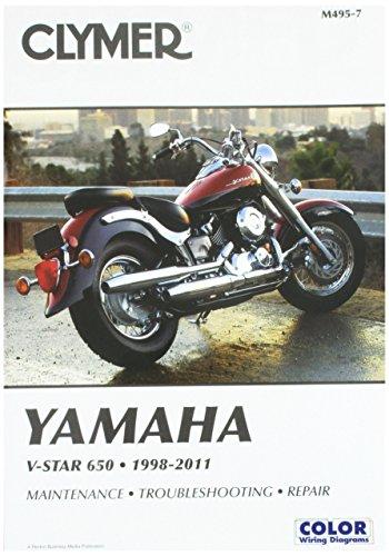 Clymer Yamaha V-Star 650 (1998-2011) (2003 Yamaha V Star 650 Classic Review)
