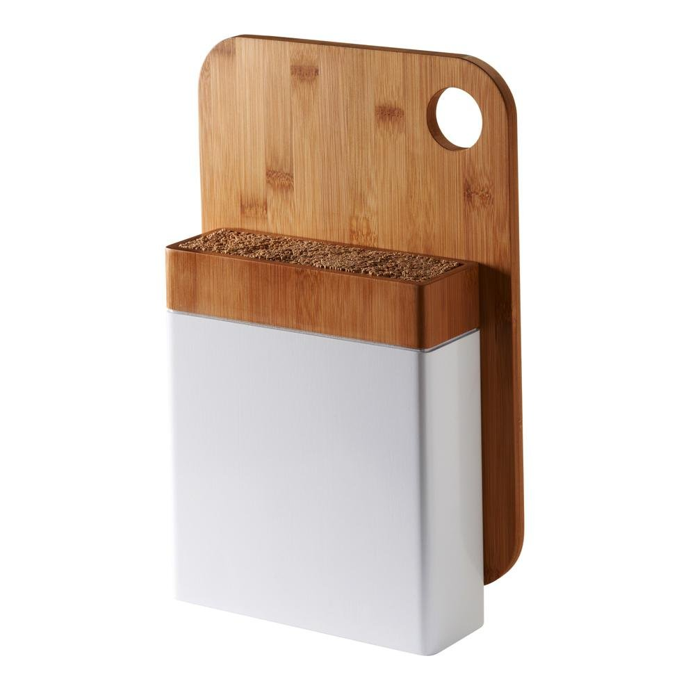 Amazon.com: Typhoon Connect Bamboo Knife Block And Chopping Board: Kitchen  U0026 Dining