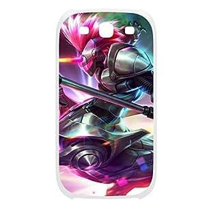 Hecarim-003 League of Legends LoL case cover HTC One M7 Plastic White