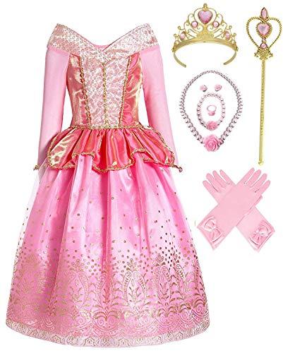 Aurora Princess Costume (4-5, Style 1) ()