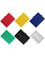 ELEGOO 6PCS 170 tie-Points Mini Breadboard kit for Arduino