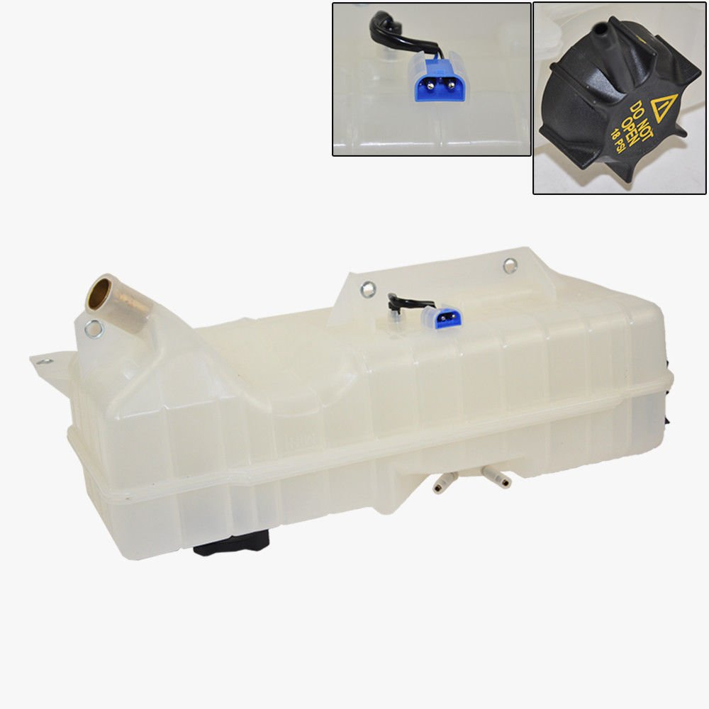 Coolant Reservoir Overflow Expansion Tank + Cap + Sensor for Volvo VN VNL VNM 2004-2007 Premium Quality 20519037 KOOLMAN 20519037 KM