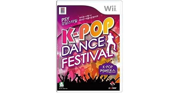 K-pop Dance Festival : Cover Dance Nintendo Wii Korean Exclusive gangnam style Psy, Kara, Bigbang [Importación Inglesa]: Amazon.es: Videojuegos