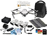 DJI Platinum Mavic Pro Drone Fly More (Obsidian) Combo (Version 2)