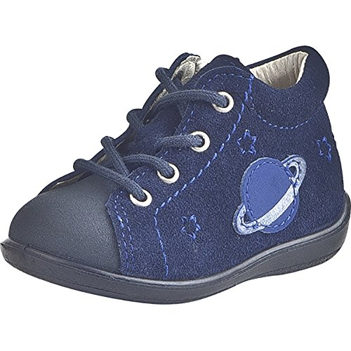 5 Velours Schnuerschuhe Ricosta Jungen Blau Nautic Baby cobalt 460766 Oxq1BP0wH