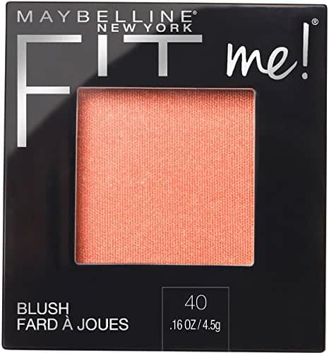 Maybelline New York Fit Me Blush, Peach, 0.16 Ounce