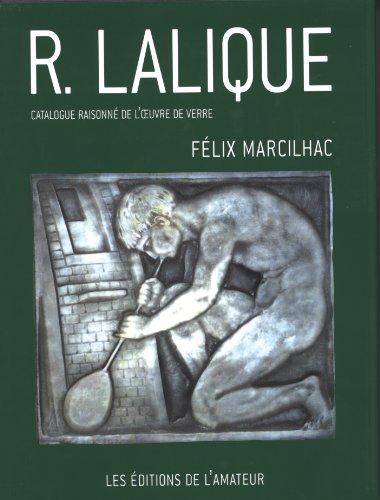 """""""R. Lalique ; catalogue raisonné de l"""