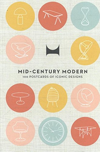 Mid-Century Modern: 100 Postcards of Iconic Designs (Thames & Hudson Gift) 51I5aVAzOFL