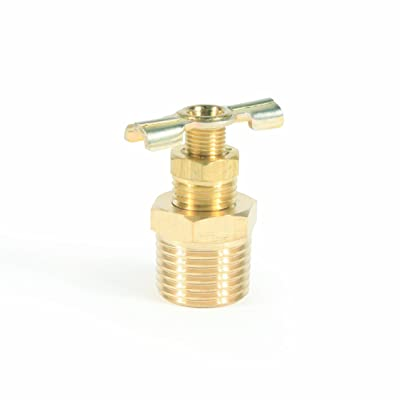 "Camco ½"" RV Water Heater Replacement Drain Valve - Replace Your RV Water Heater Drain Valve 