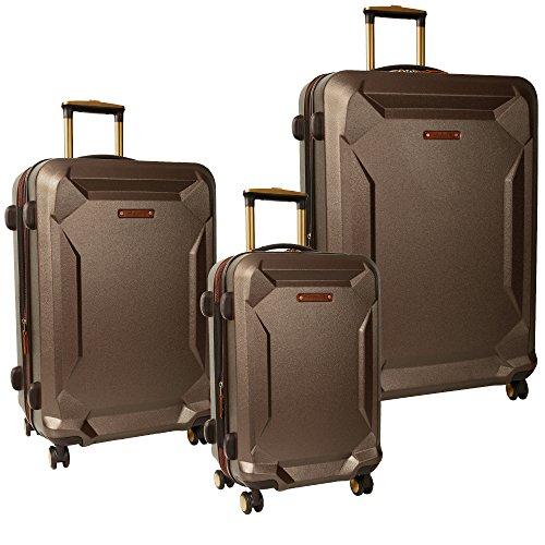 Timberland Fort Stark 3 Piece Hardside Luggage Set, Brown