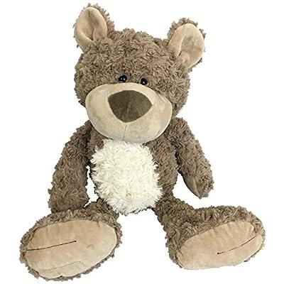Checkered Fun Teddy Bear - Stuffed Animal - Plush Toy - Classic Cute Soft Brown Stuffed Teddy Bear - The Cutest, Softest, Cuddliest Bear: Toys & Games