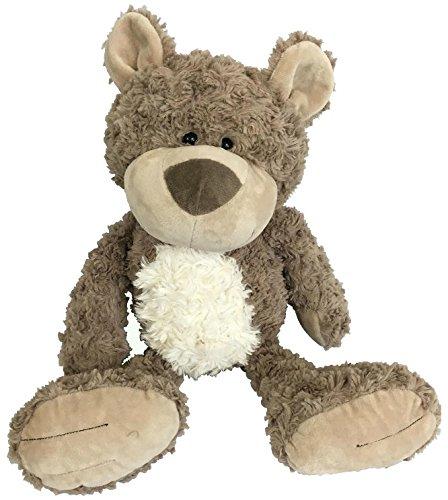 Checkered Fun Teddy Bear - Stuffed Animal - Plush Toy - Classic Cute Soft Brown Stuffed Teddy Bear - The Cutest, Softest, Cuddliest ()