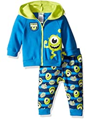Disney Baby Boys' 2-Piece Mike from Monsters Inc. Hoodie and Printed Jogger Set