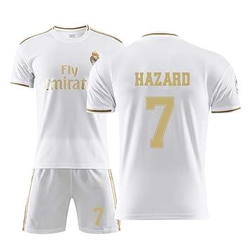 new style ab42a a854e JBIVWW Football Uniform Kit - 19-20 New Real Madrid Club De ...