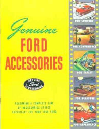 1949 FORD CAR & TRUCK ACCESSORIES FACTORY SALES BROCHURE