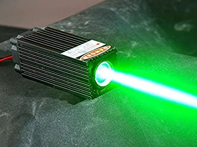 Fat Beam 60mW 532nm Green Laser Dot Diode Module W/ TTL