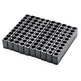 JETEHO 10 Holes Plastic Screwdriver Head Storage