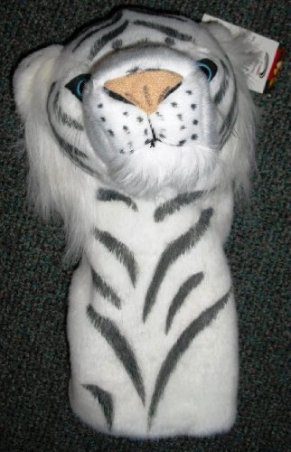ProActive Zoo 460cc White Tiger Headcover, Outdoor Stuffs