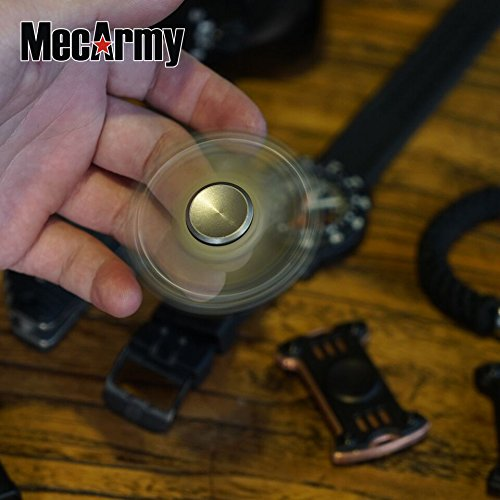 GP1 Titanium Fidget Spinner, Hand Excise, Relieves Stress and Anxiety, MecArmy (black) by MeCarmy (Image #2)