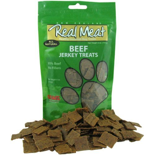 Real Meat Beef Jerky Dog Treats (6 Pack)