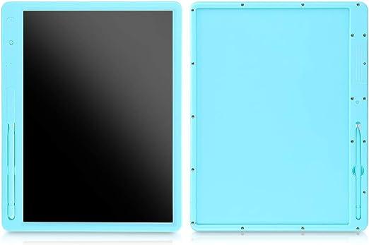 電子図面黒板、電子黒板LCDライティングボードライティングタブレット、グラフィックスタブレットギフト子ども向け絵画ライティング計算ドラフト(blue)