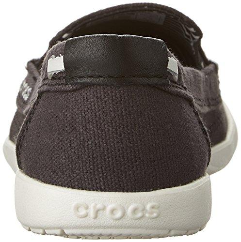 Black Crocs Donna Mocassini Mocassini Crocs oyster nxnfH